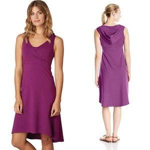 Prana organic cotton hooded Alana Dress size XS